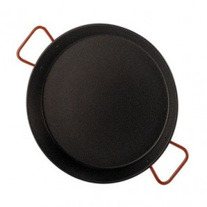 50-cm Non-Stick Valencian Paella Pan For 14 People.