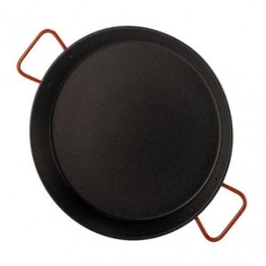 55-cm Non-Stick Valencian Paella Pan For 16 People.