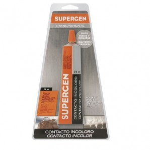 Pegamento Supergen Incoloro 75 ml.