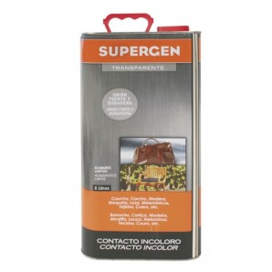Supergen Colourless Adhesive 5 litres
