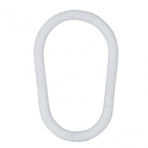 Pear Bathroom Ring 18 mm (Bag of 100 units) white