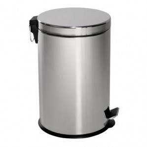 Maurer Stainless Steel Kitchen Bin 20 Litres 30x44 cm.