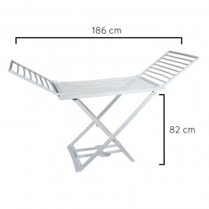 Resin Folding Drying Rack Oryx Winged