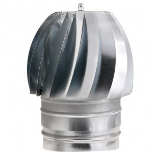 Hat Extractor Galvanized Stove 200 mm