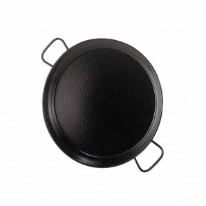 5-person / 32-cm Enamelled Valencian Paella Pan.
