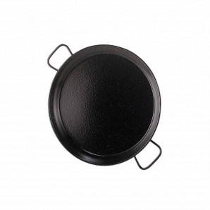 2-person / 26-cm Enamelled Valencian Paella Pan.