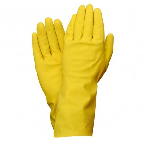 Guante Latex 100% Basic Domestico L (Par)