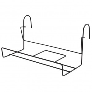 Planter rack with safety hook 15x40 cm.