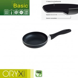 Basic Aluminium Non-stick Frying Pan 16 cm. / 3 mm.