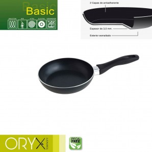 Basic Aluminium Non-stick Frying Pan 18 cm. / 3 mm.
