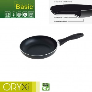 Basic Aluminium Non-stick Frying Pan 20 cm. / 3 mm.