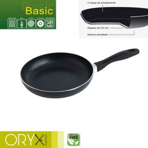 Basic Aluminium Non-stick Frying Pan 24 cm. / 3 mm.