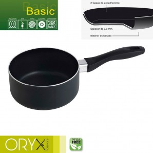 Non-stick Aluminium Pot Basic 16cm/3mm