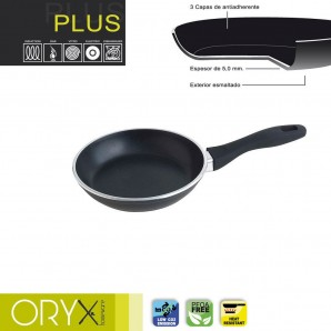 Non-stick Plus Aluminium Frying Pan 18 cm. / 5 mm.
