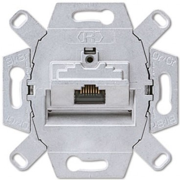 Toma RJ45 categoría 6 Clase A JUNG UAE 8 UPOK6