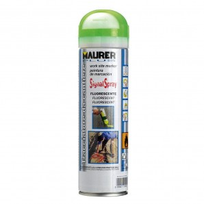 Spray Maurer traçage vert fluorescent 500 ml
