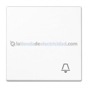 Tecla interruptor, conmutador, cruce o pulsador BLANCO JUNG LS 990