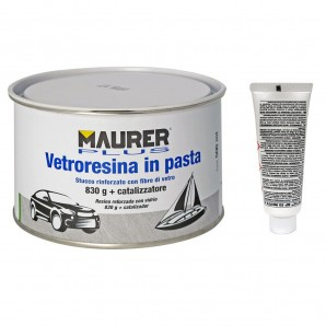 Putty Fiber Glass 500 ml. (With Hardener)