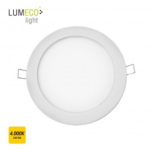 Downlight LED empotrable redondo 20W 4000K 1500lm blanco Lumeco 31572