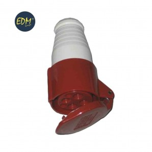Base aerea cetac 3 p+t roja 16 a retractilado