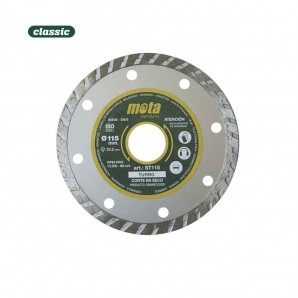 Disco diamantado turbo 115mm clp18 st115-p