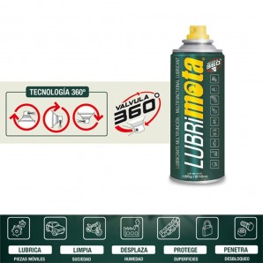 Oils and lubricants - Lubrimota 216ml 155gr