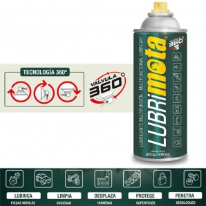 Oils and lubricants - Lubrimota 450ml 300gr