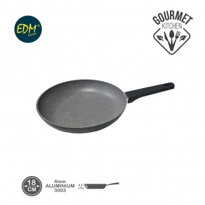 Nonstick skillet diam. 18cm high 4.5cm thickness 4mm professional line EDM