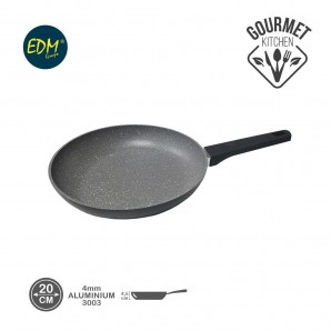 Nonstick skillet diam. 20cm high 4.5cm thickness 4mm professional line EDM