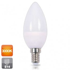 Led bulbs E27 and E14 - Bombilla de led esférica E14 4W luz cálida 3000K 320 lm GSC 2001553