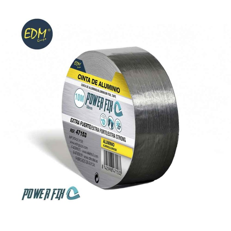 Ruban multiuso d'aluminium 10m x 50mm