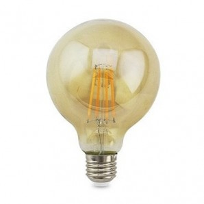 LED light bulbs Vintage and Deco - Lampara Vintage deco. globo G80 LED 7W E27 2500K GSC 2004848
