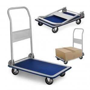 Trolleys and pallet trucks - Carretilla metalica plegable con ruedas max. 150kg 82x48x73cm EDM 99997