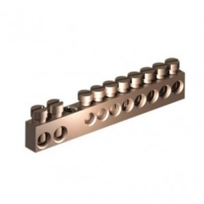 Electrical connection - Terminal strips for connection of ground and neutral 8 terminal Solera 108P