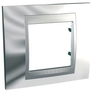 Frame Top 1 Chrome element SCHNEIDER U66.002.010