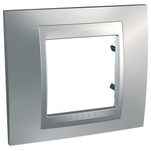 Mechanism Schneider - Frame Top 1 item Satin Chrome SCHNEIDER U66.002.038