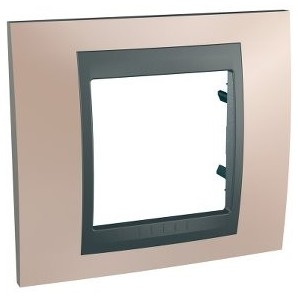Frame Top 1 element Copper onix SCHNEIDER U66.002.296