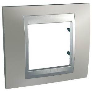 Frame Top 1 item Nickel Matt SCHNEIDER U66.002.039