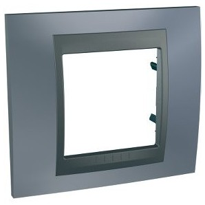 Frame Top 1 element Gray SCHNEIDER U66.002.297