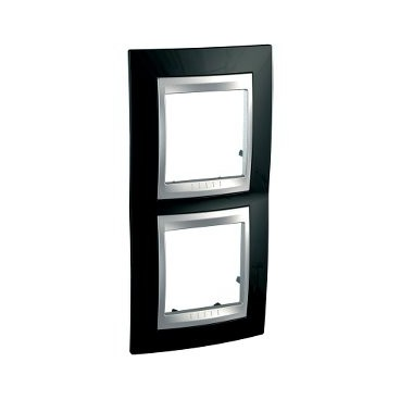 Frame Top 2 elements vertical Black rhodium SCHNEIDER U66.004V.093