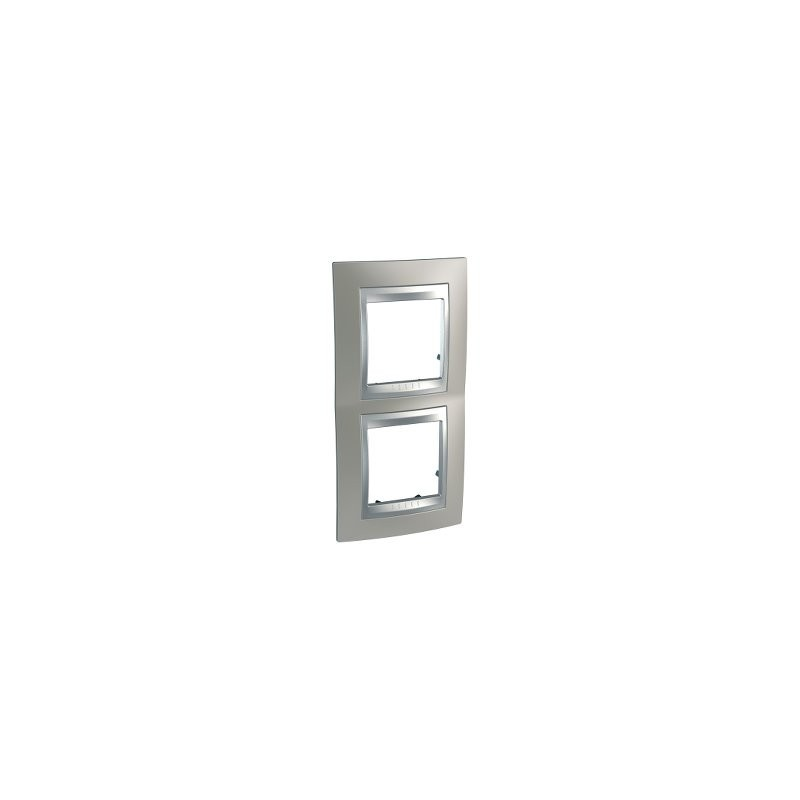 Frame Top 2 elements vertical Nickel Matt SCHNEIDER U66.004V.039