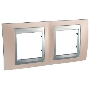 Frame Top 2 elements Copper onix SCHNEIDER U66.004.096