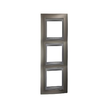 Framework Top 3 elements vertical Nickel Matt SCHNEIDER U66.006V.039