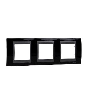 Framework Top 3 elements Black rhodium SCHNEIDER U66.006.293