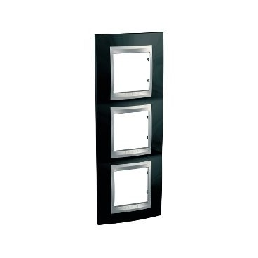 Framework Top 3 elements of vertical Black rhodium SCHNEIDER U66.006V.093