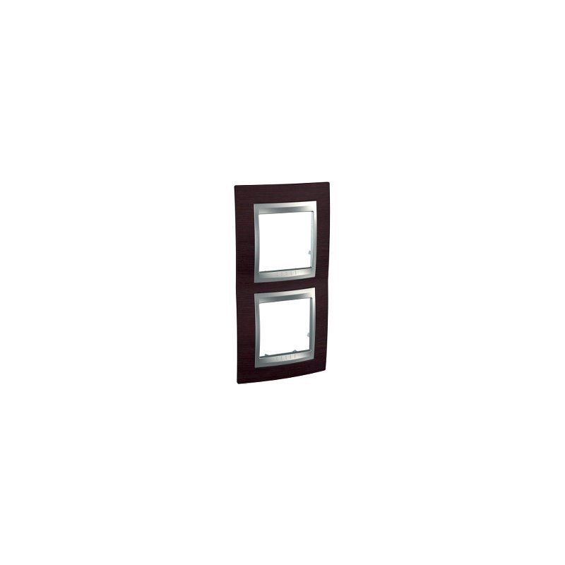 Frame Top 2 elements vertical Wenge SCHNEIDER U66.004V.0M3