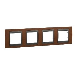 Frame Top 4 items Cherry SCHNEIDER U66.008.2M2
