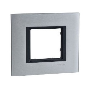 Comprar Frame Single Class 1 element Aluminum Ice SCHNEIDER MGU68.002.7A1 online