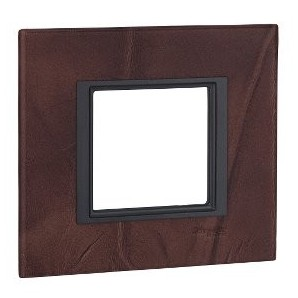 Comprar Frame Single Class 1 element Leather Truffle SCHNEIDER MGU68.002.7P2 online