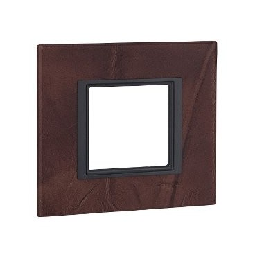 Frame Single Class 1 element Leather Truffle SCHNEIDER MGU68.002.7P2